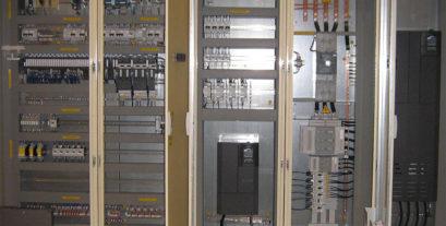 quadri elettrici per l'industria   La2R elettroimpianti